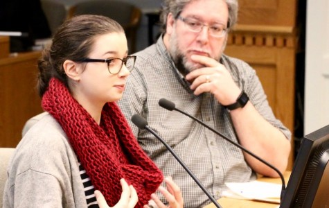 View testimony on student expression bill