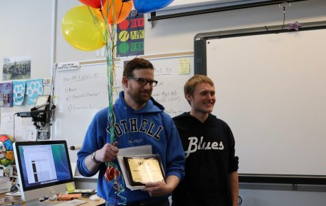 Bothell adviser Jacob Crouch wins 2017 Adviser of the Year