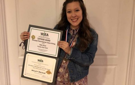 Puyallup senior named Washington Journalist of the Year