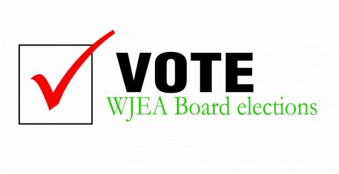 WJEA Board election ballot