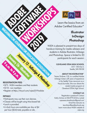 Adobe workshops slated for January