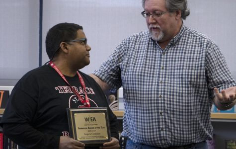 Comeaux named Adviser of Year